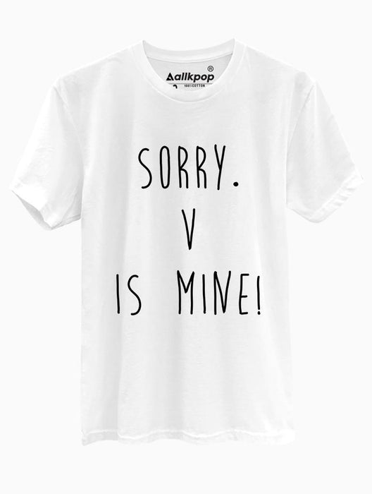 BTS Mine Tee Tees AKP V White Small