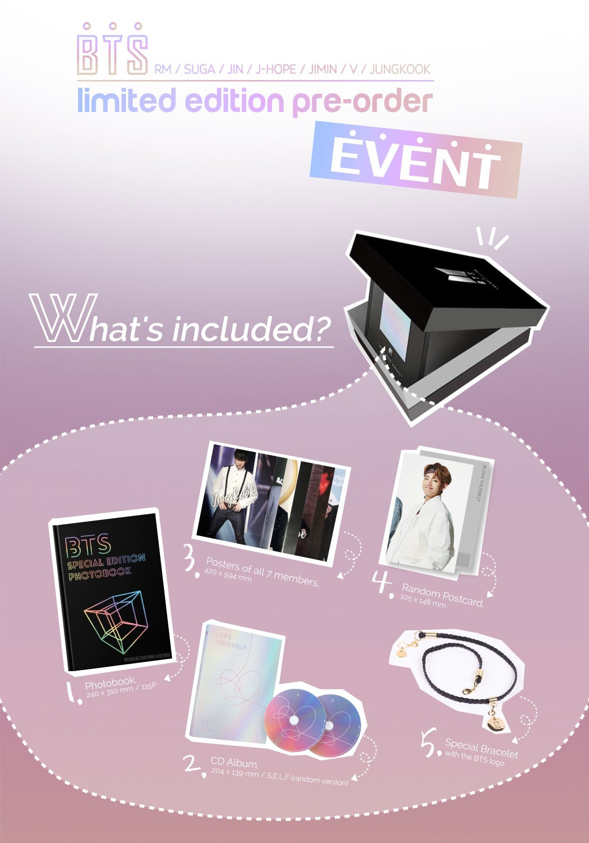 [Exclusive Pre-order] BTS 5th Anniversary Special Edition Package