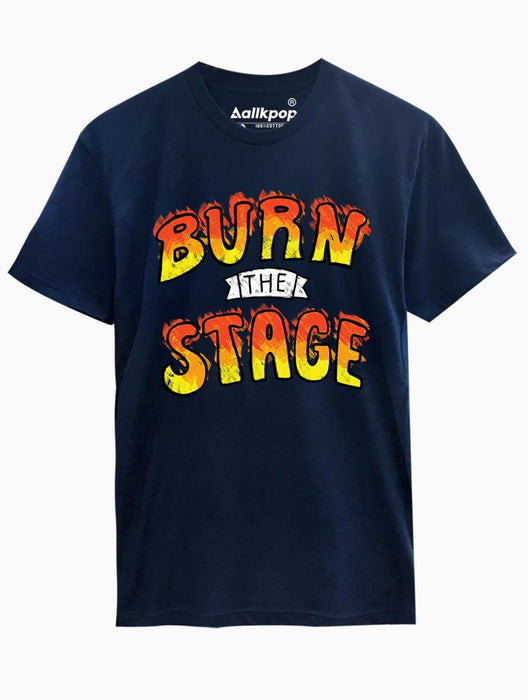 Burn Stage Tee Tees AKP Male Navy Small
