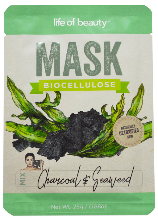 Charcoal & Seaweed Face Mask Face Mask AKP Single