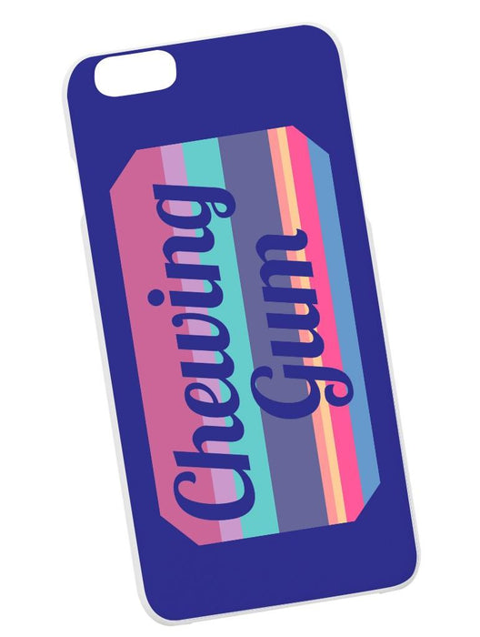Chewing Gum Case Phone Case AKP Purple