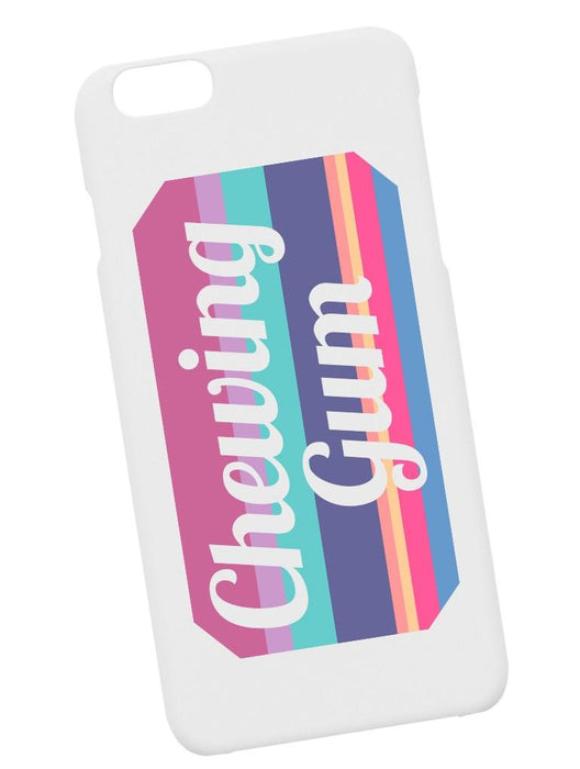 Chewing Gum Case Phone Case AKP White
