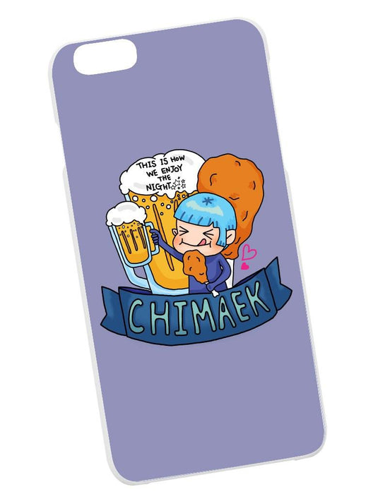 Chimaek Case Phone Case AKP Purple