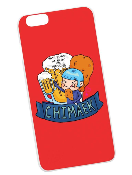 Chimaek Case Phone Case AKP Red