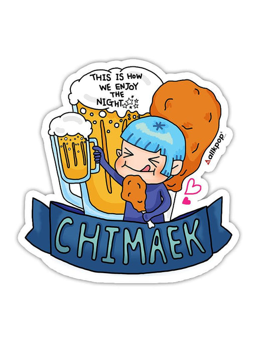 Chimaek Sticker Stickers AKP