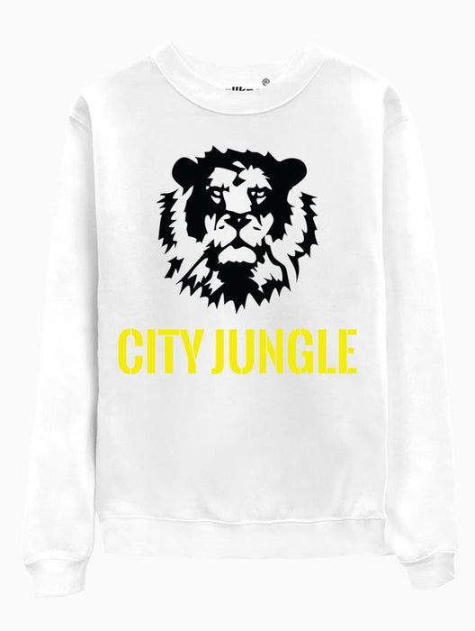 City Jungle Crew Crews AKP Unisex White Small
