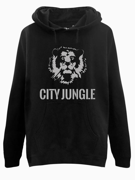 City Jungle Hoodie Hoodies AKP Unisex Black Small
