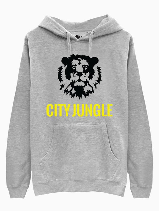 City Jungle Hoodie Hoodies AKP Unisex Grey Small