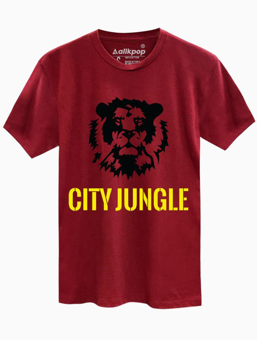 City Jungle Tee Tees AKP Male Red Small