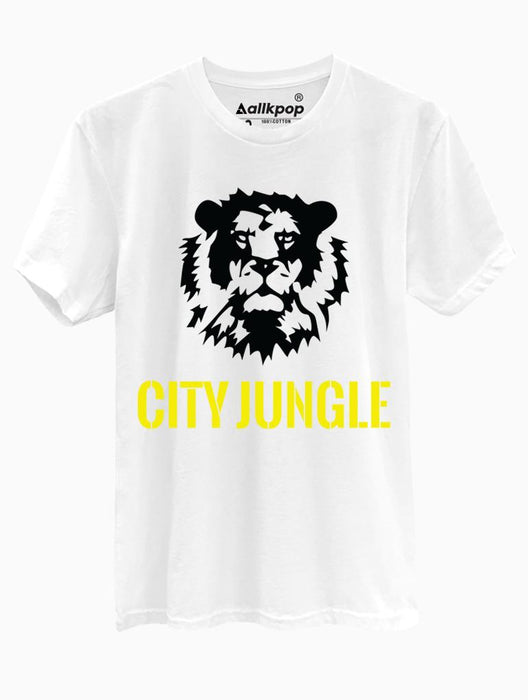 City Jungle Tee Tees AKP Male White Small