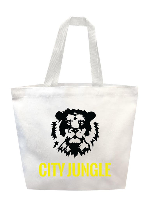 City Jungle Tote Tote AKP White