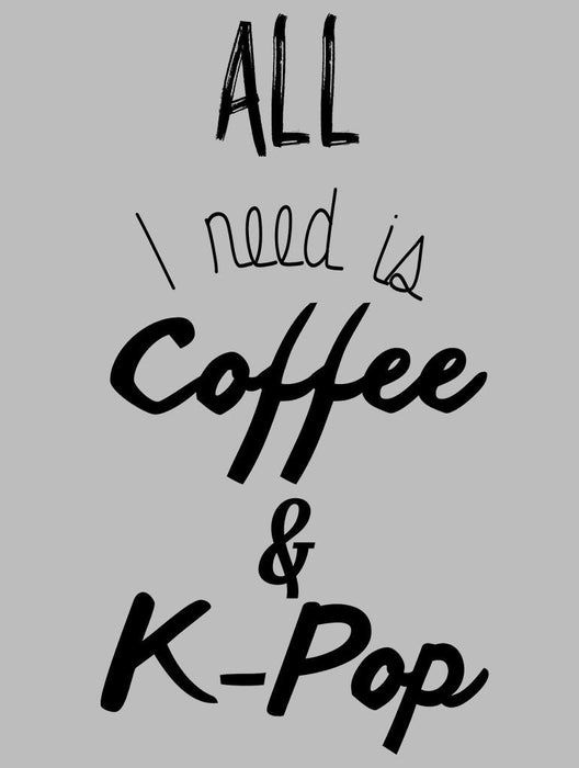 Coffee & K-Pop Tank Tanks AKP