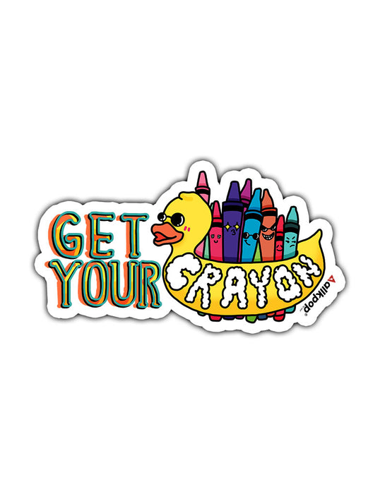 CrayOn Sticker