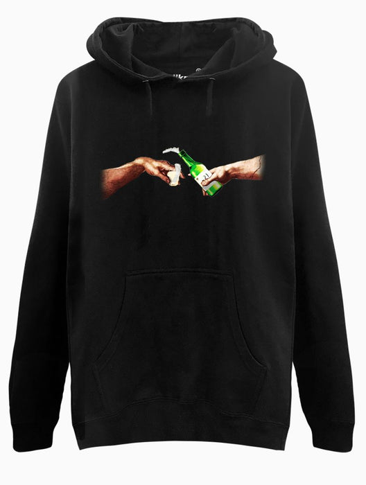 Creation of Soju Hoodie Hoodies AKP Unisex Black Small