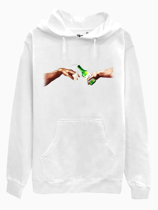 Creation of Soju Hoodie Hoodies AKP Unisex White Small
