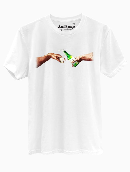 Creation of Soju Tee Tees AKP Male White Small