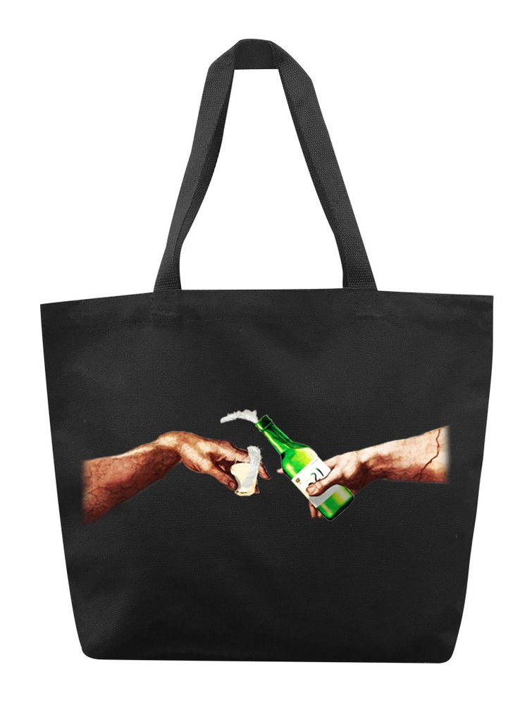 Creation of Soju Tote Tote AKP Black