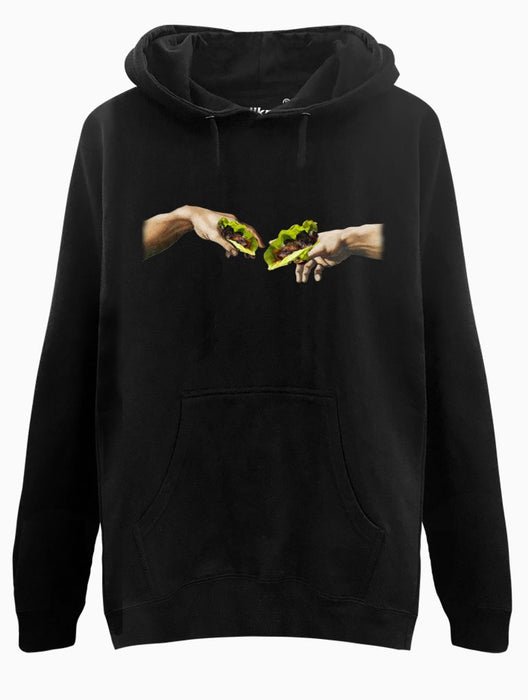 Creation of Ssam Hoodie Hoodies AKP Unisex Black Small
