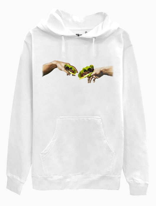 Creation of Ssam Hoodie Hoodies AKP Unisex White Small
