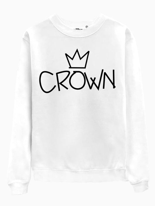 Crown Crew Crews AKP Unisex White Small