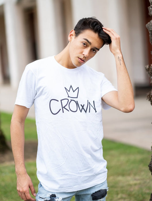 Crown Tee Tees AKP Male White Small