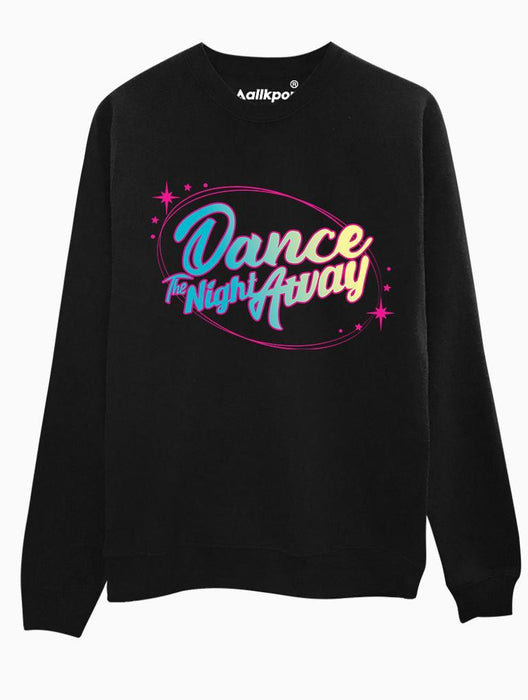 Dance Night Crew Crews AKP Unisex Black Small
