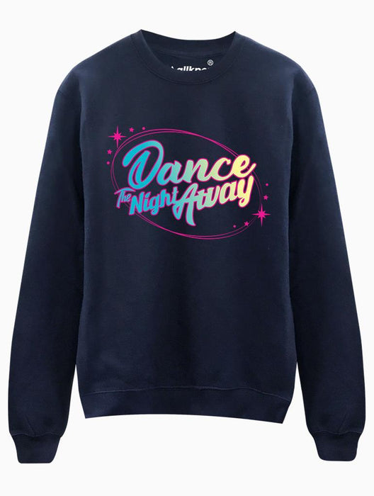 Dance Night Crew Crews AKP Unisex Navy Small