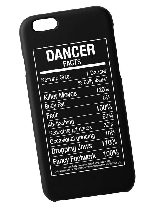 Dancer Fact Case Phone Case AKP Black