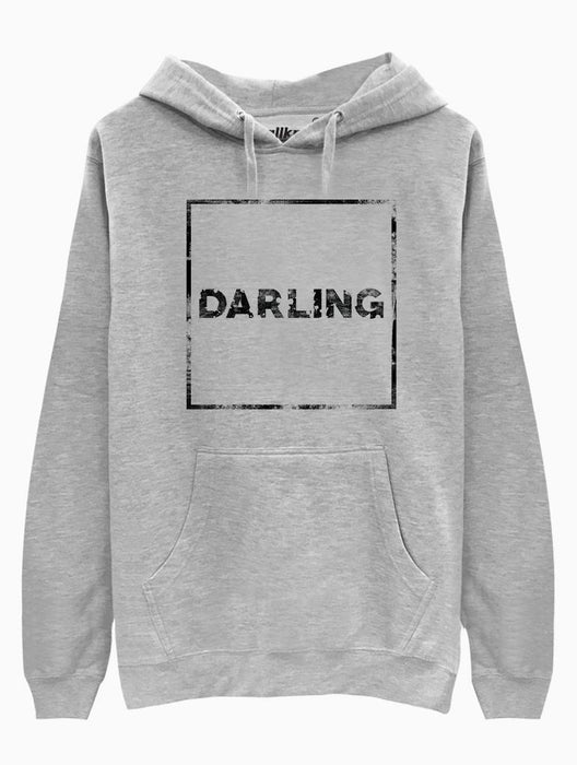 Darling Hoodie Hoodies AKP Unisex Grey Small