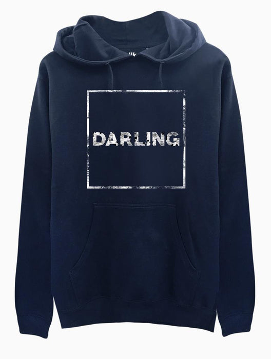 Darling Hoodie Hoodies AKP Unisex Navy Small