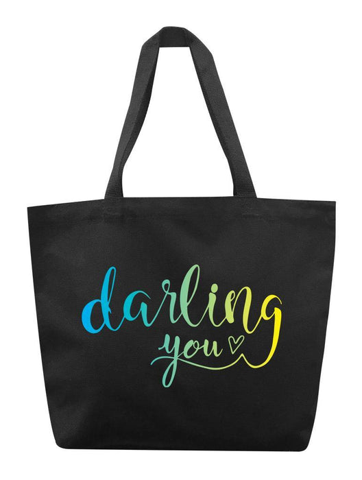 Darling You Tote Tote AKP Black
