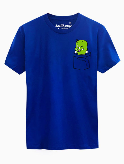 Dino Pocket Tee Tees AKP Male Blue Small