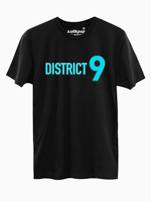 District 9 Tee Tees AKP Male Black Small