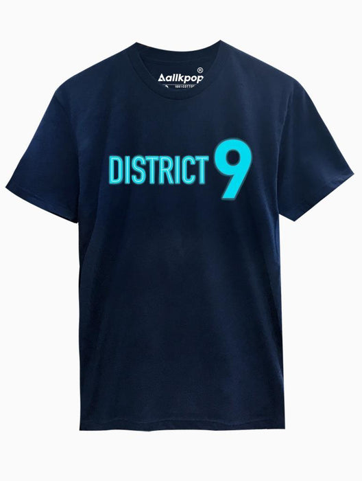 District 9 Tee Tees AKP Male Navy Small