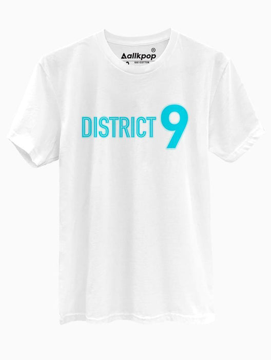 District 9 Tee Tees AKP Male White Small