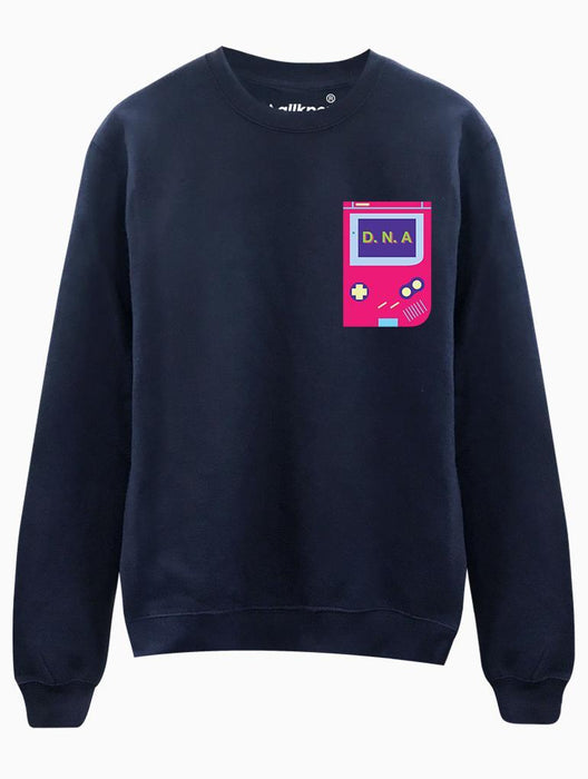 DNA Game Crew Crews AKP Unisex Navy Small