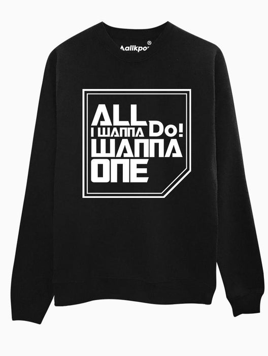 Do You Wanna Crew Crews AKP Unisex Black Small
