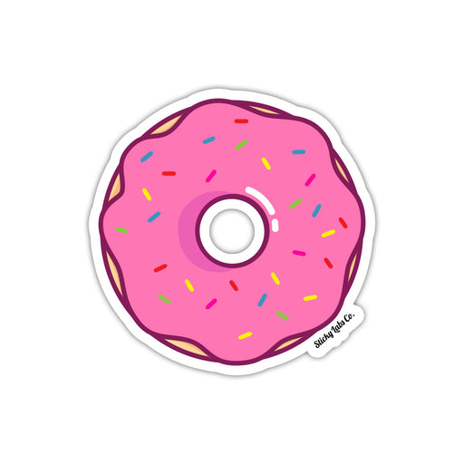 Strawberry Frosted Donut Sticker