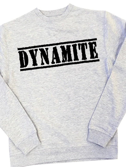 Dynamite Crew Crews AKP Unisex Grey Small