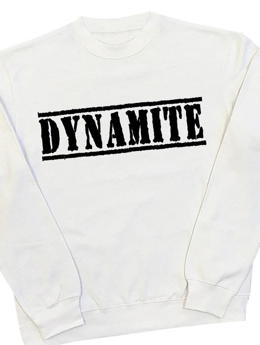 Dynamite Crew Crews AKP Unisex White Small