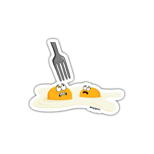 Eggcellent Sticker