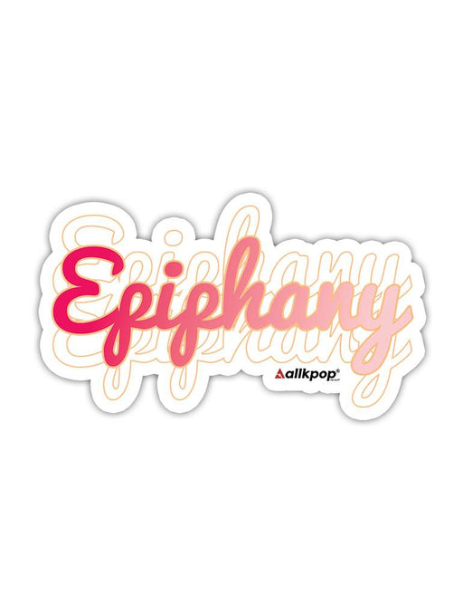 Epiphany Sticker Stickers AKP