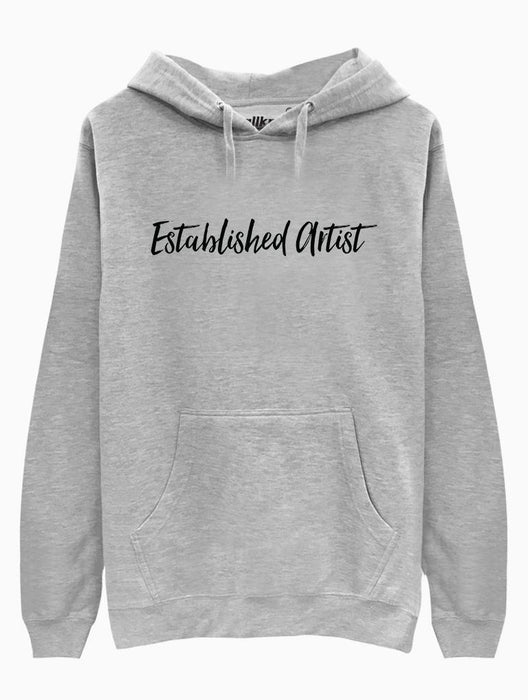 Established Artist Hoodie Hoodies AKP Unisex Grey Small