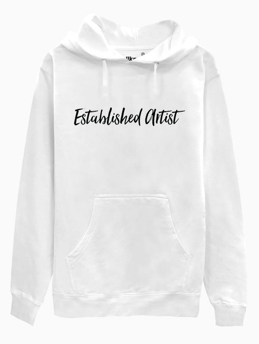 Established Artist Hoodie Hoodies AKP Unisex White Small