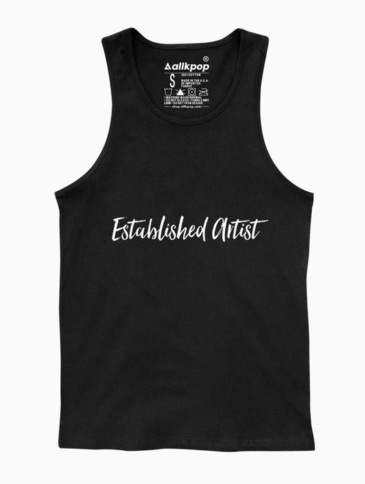 Established Artist Tank Tanks AKP Unisex Black Small
