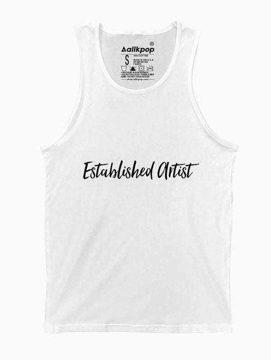 Established Artist Tank Tanks AKP Unisex White Small