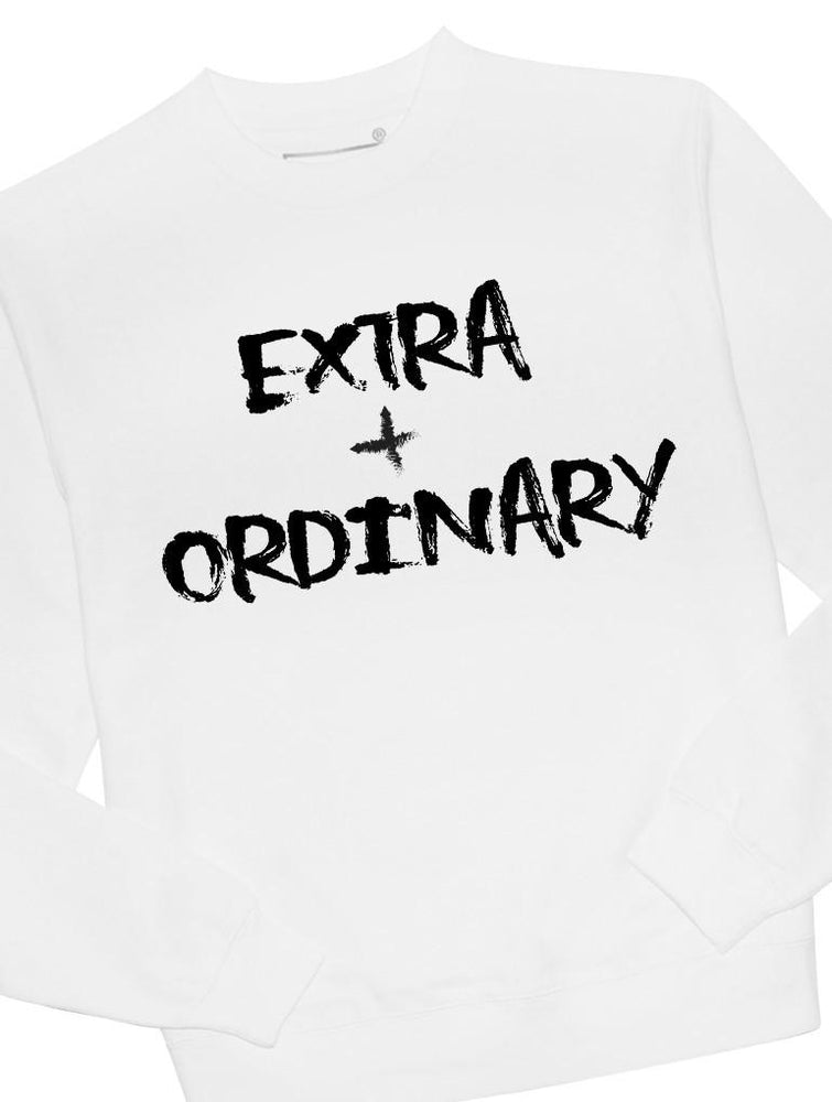 Extra + Ordinary Crew Crews AKP Unisex White Small