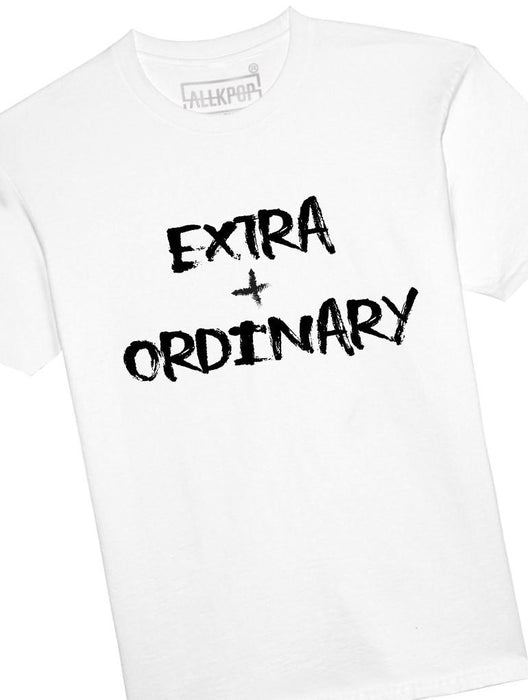 Extra + Ordinary Tee Tees AKP Male White Small