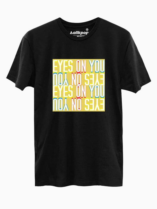 Eyes on You Tee Tees AKP Male Black Small