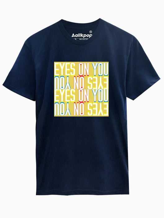 Eyes on You Tee Tees AKP Male Navy Small
